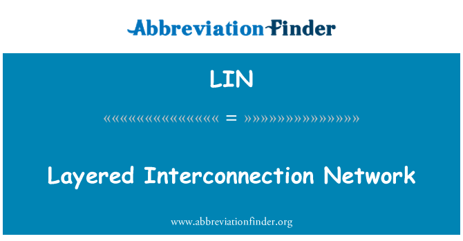LIN: Layered Interconnection Network