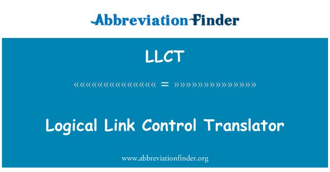 LLCT: Logical Link Control Translator