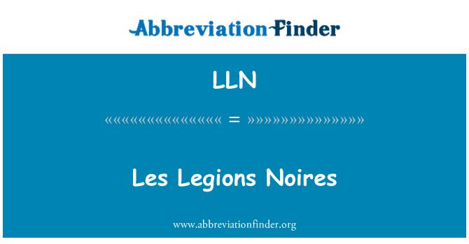 LLN: Les Legions Noires