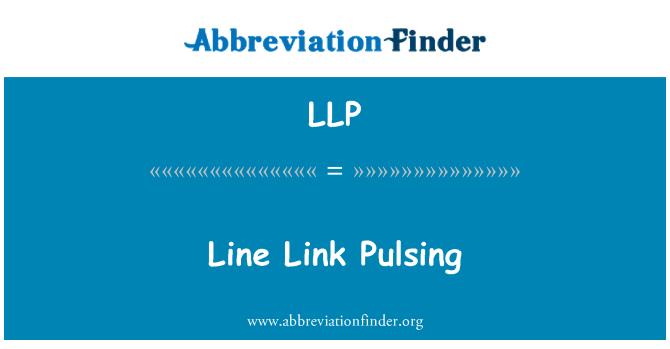 LLP: Line Link Pulsing