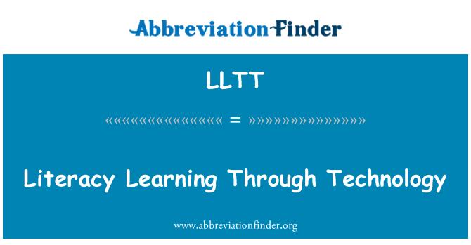 LLTT: 通过科技学习识字