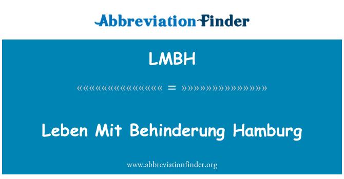 LMBH: Leben Mit Behinderung Hamburg