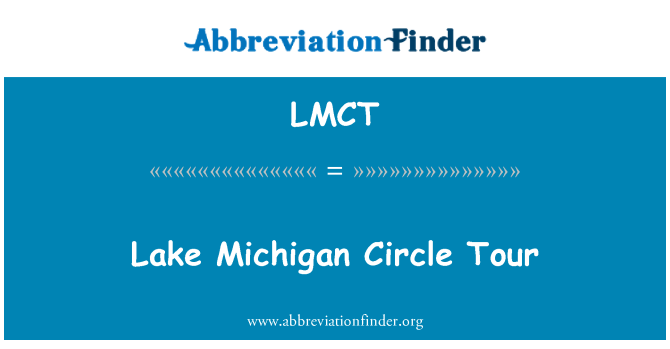 LMCT: Lake Michigan Circle Tour