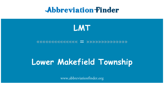 LMT: Lower Makefield Township