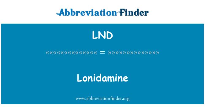 LND: Lonidamine