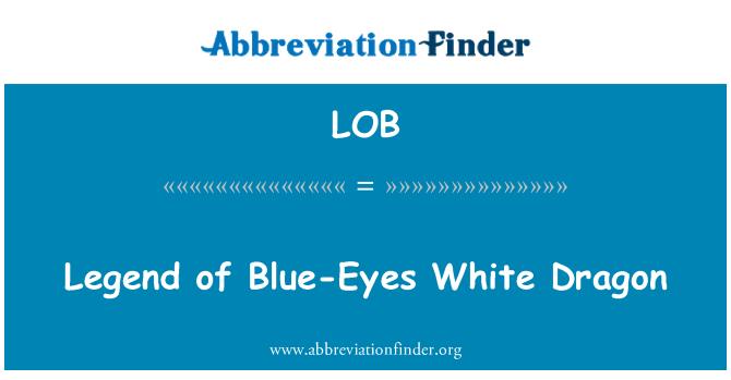 LOB: Legend of Blue-Eyes White Dragon