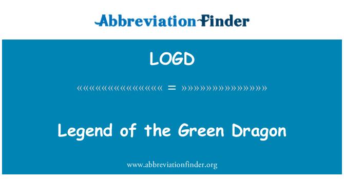 LOGD: Leyenda del dragón verde