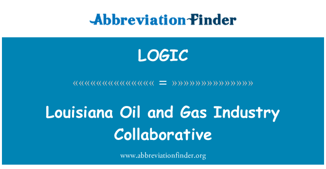 LOGIC: Louisiana Oil and Gas Industry Collaborative
