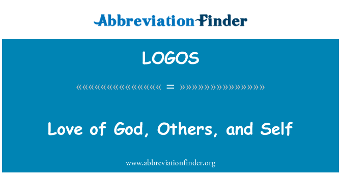 LOGOS: Love of God, Others, and Self