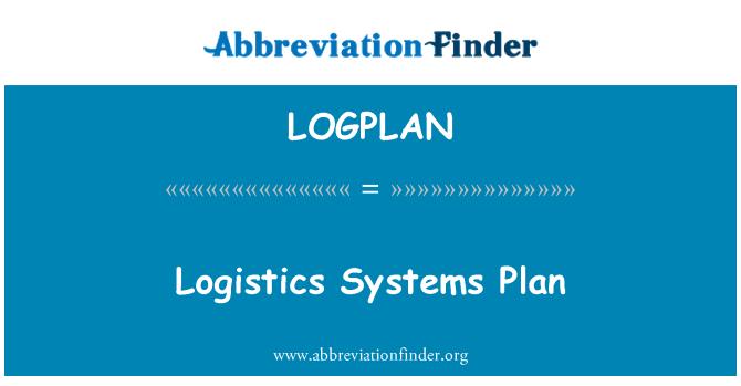 LOGPLAN: Plan de sistemas de logística