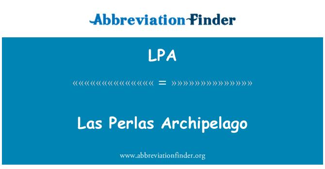 LPA: Las Perlas Archipelago