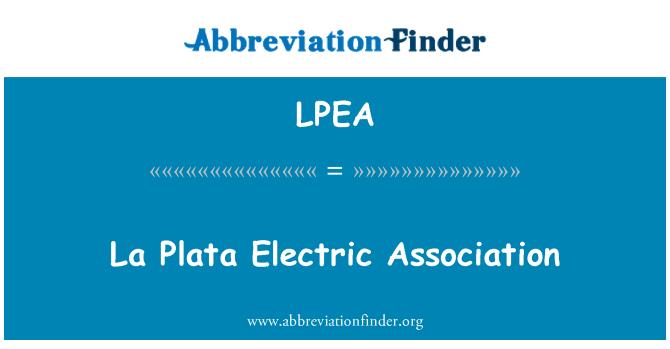 LPEA: La Plata Electric Association