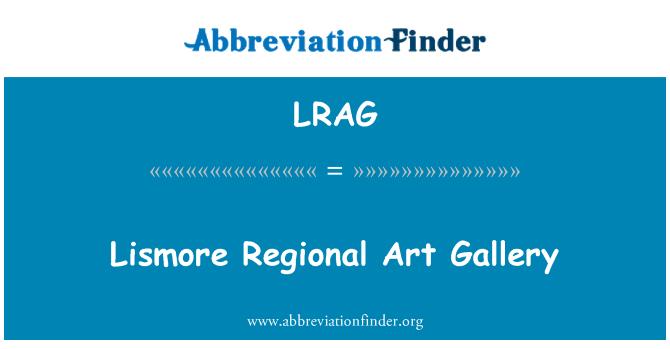 LRAG: Lismore Regional Art Gallery
