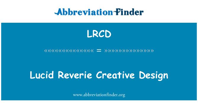 LRCD: Sueño lúcido diseño creativo