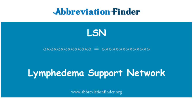 LSN: Lymphedema Support Network