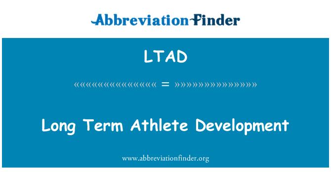 LTAD: Desarrollo de atleta a largo plazo