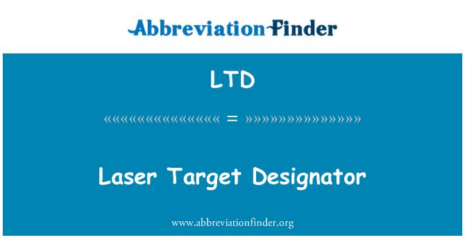 LTD: Laser Target Designator