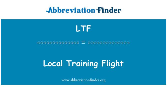 LTF: Local Training Flight