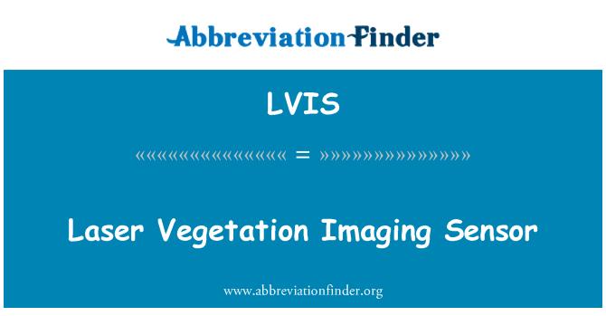 LVIS: نباتات امیجنگ سینسر لیزر