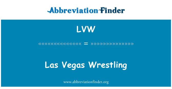 LVW: Las Vegas Wrestling