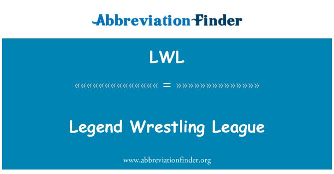LWL: Legend Wrestling League