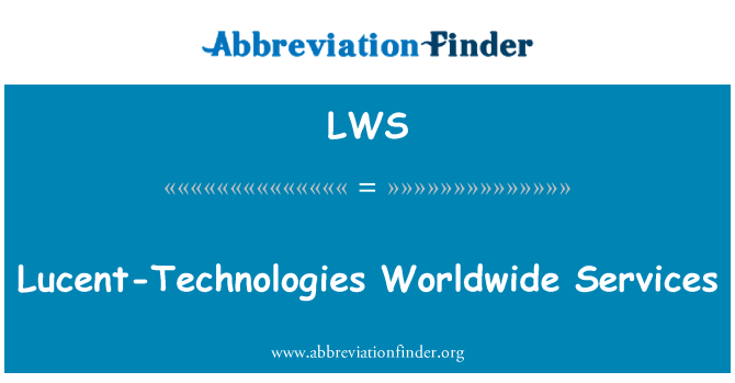 LWS: Lucent-Technologies Worldwide Services