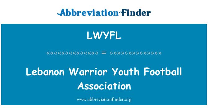 LWYFL: Lebanon Warrior Youth Football Association