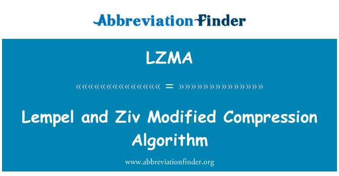 LZMA: Lempel y Ziv modifican el algoritmo de compresión