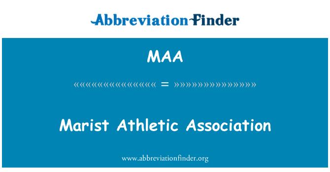 MAA: Marist Athletic Association