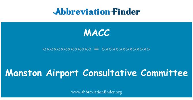 MACC: Kent Intl. Airport Danışma Kurulu