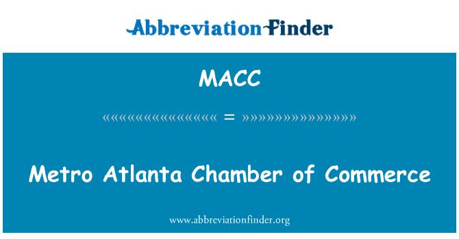 MACC: Metro Atlanta ticaret