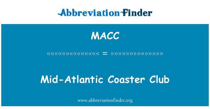 MACC: Orta Atlantik Coaster Club