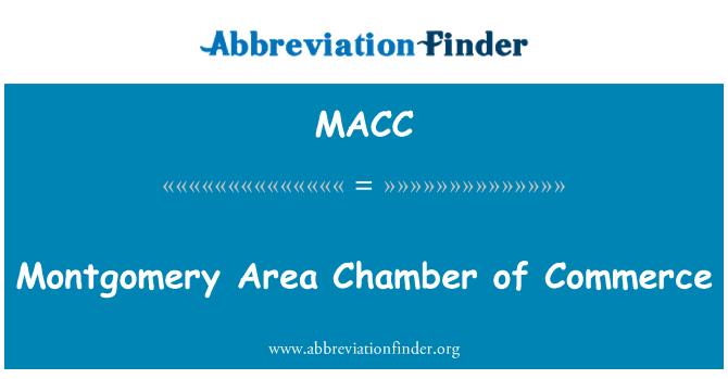MACC: Montgomery alan ticaret