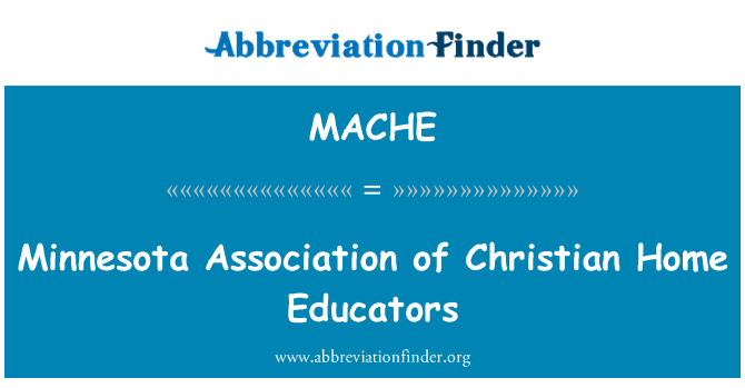 MACHE: Minnesota Association of Christian Home Educators