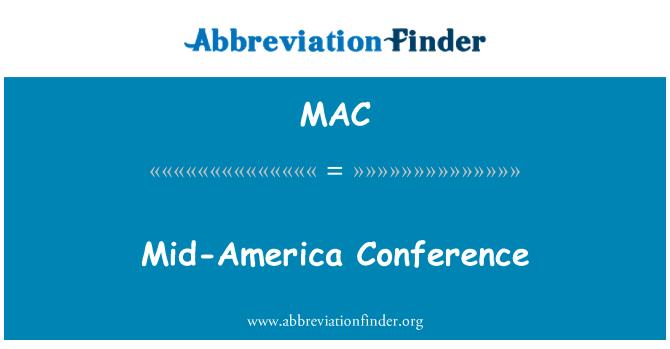 MAC: Mid-America Conference