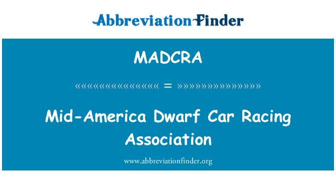 MADCRA: Mid-America Dwarf Car Racing Association