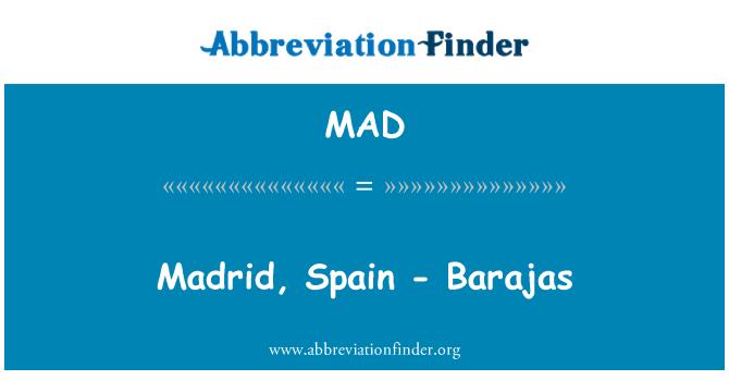 MAD: Madrid, Spain - Barajas