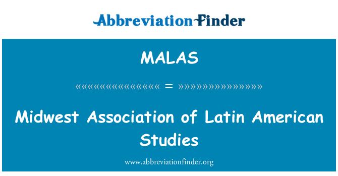 MALAS: Midwest Association of Latin American Studies