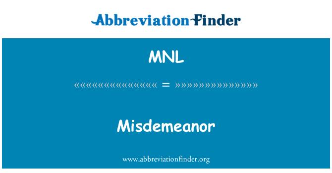 MNL: Pelanggaran tabrak
