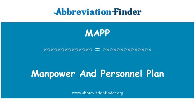 MAPP: Mano de obra y Plan de personal