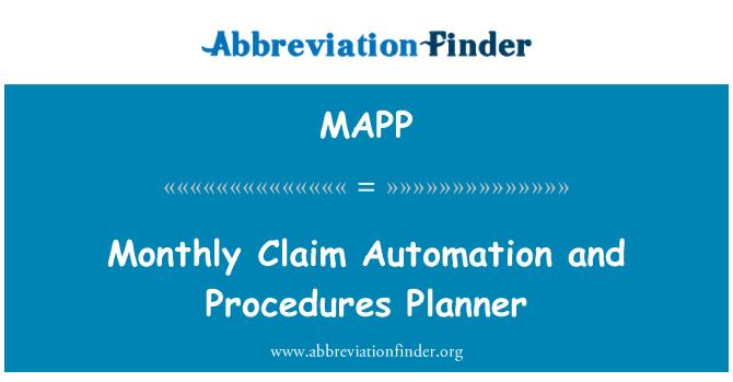 MAPP: Automatización de demanda mensual y planificador de procedimientos