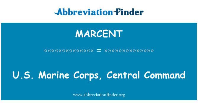 MARCENT: ABD Deniz Kuvvetleri, Merkez Komutanlığı