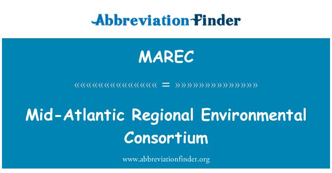 MAREC: Consorcio Ambiental Regional Atlántico