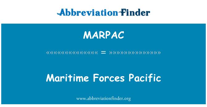 MARPAC: Pomorske snage Pacific