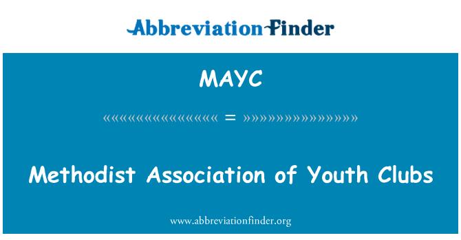 MAYC: Metodist Gençlik Kulübü Derneği