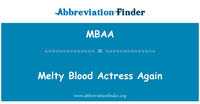 MBAA: Melty Blood actriz otra vez