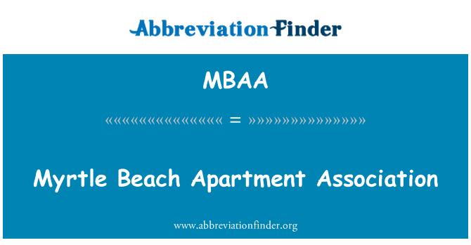 MBAA: Myrtle Beach korteriόhistu