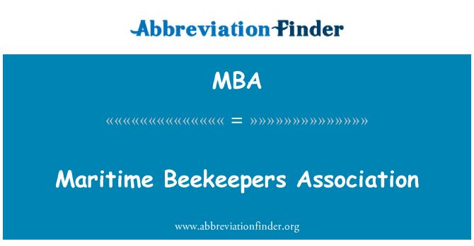 MBA: Maritime Beekeepers Association