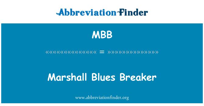 MBB: Marshall Blues Breaker