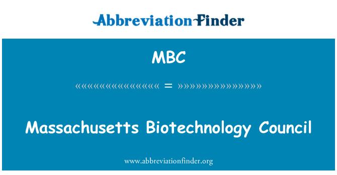 MBC: Massachusetts Biotechnology Council